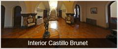 Interior Castillo Brunet